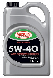 Моторное масло MEGUIN ULTRA PERFORMANCE LONGLIFE 5W-40
